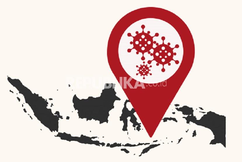 Tren Covid-19 Meningkat, Zona Merah di Indonesia Bertambah