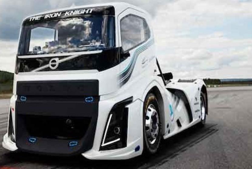 Gambar Modifikasi Truk Volvo Truk Volvo Capai Rekor Tercepat 275 Km Per Jam Republika Online