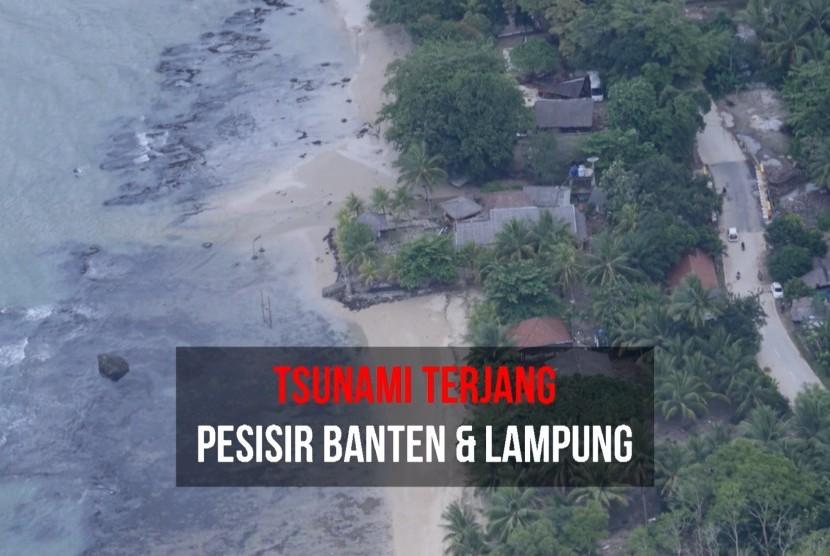 Tsunami terjang pesisir Banten dan Lampung (ilustrasi)