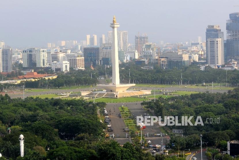 Tugu Monas, Monumen Nasional(Republika/Agung Supriyanto)