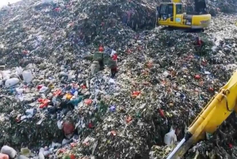 Anggota DPD RI meminta UU Pengelolaan Sampah diubah lebih menyesuaikan zaman. Foto tumpukan sampah (Ilustrasi)