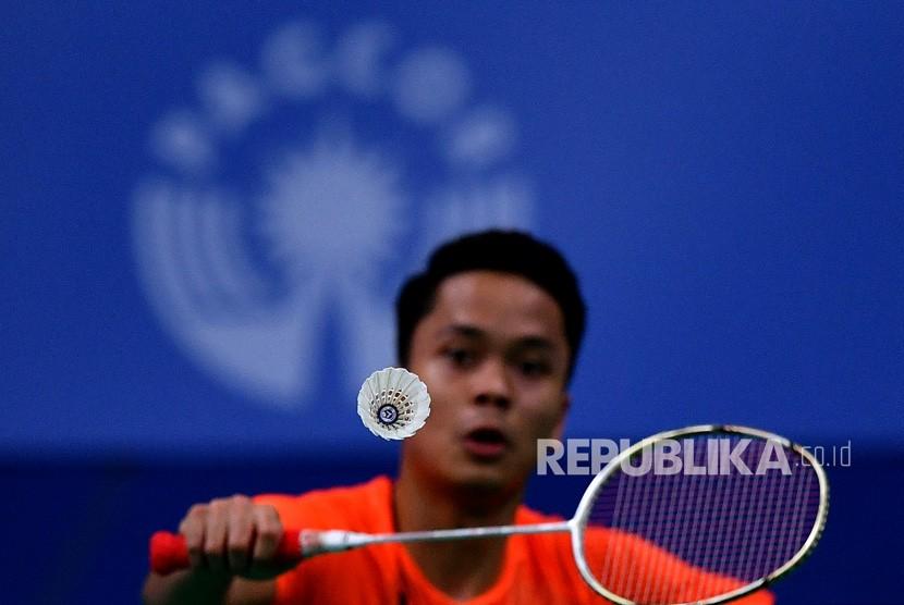 Anthony Asah Fisik dan Teknik Jelang BWF Tour Finals