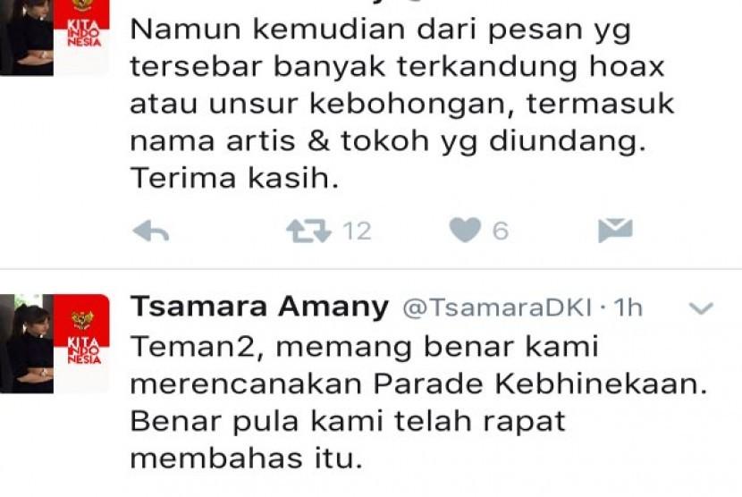 Twitter Tsamara Amany Alatas