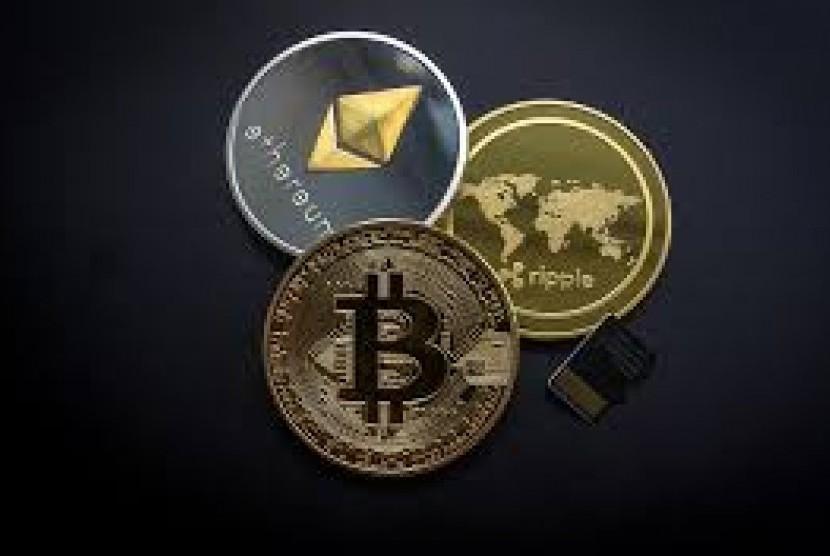 Uang kripto (ilustrasi)