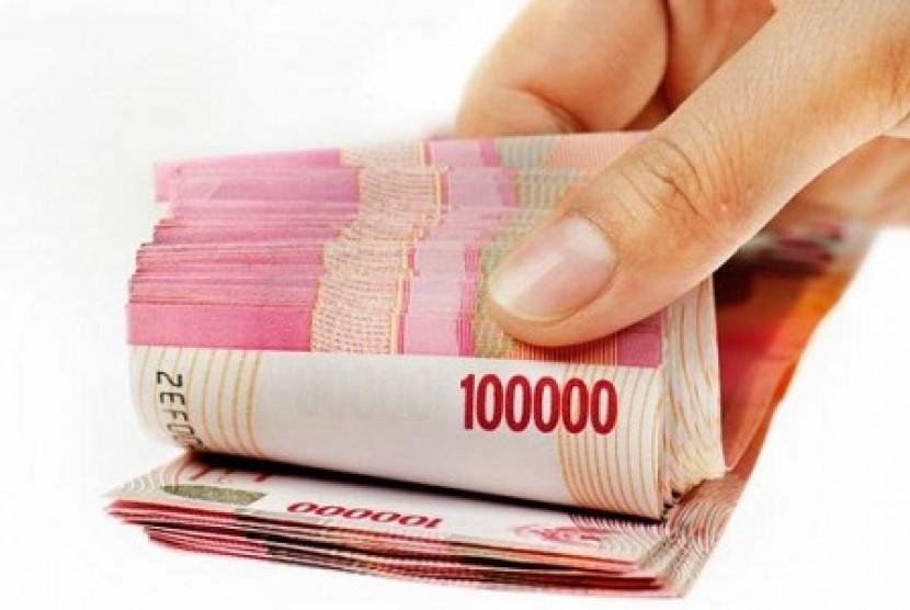 Uang pesangon (ilustrasi)