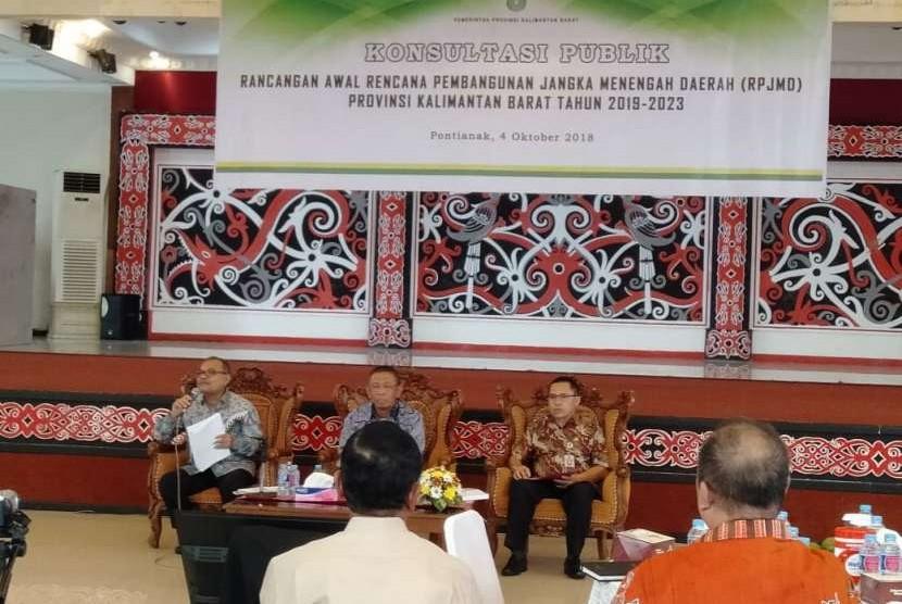 UBSI PSDKU Pontianak menghadiri undangan dari pemerintahan daerah Kalimantan Barat.