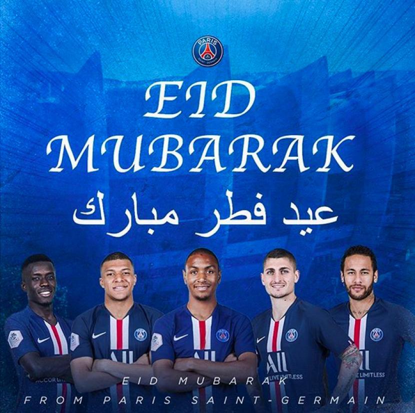 PSG: Selamat Idul Fitri, Fans!