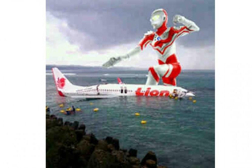 Ultraman-Lion Air