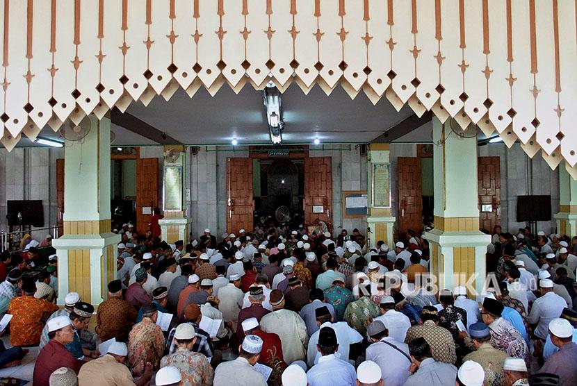 Kauman Grand Mosque, Semarang, Central Java.