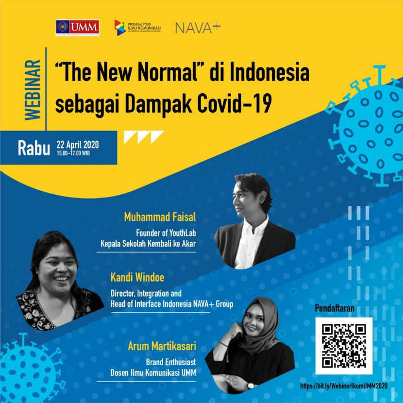 Komunikasi Umm Seminarkan The New Normal Dampak Covid 19