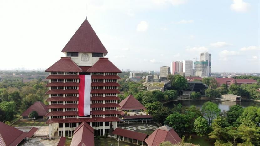 Gedung Rektorat Universitas Indonesia (UI) di Depok, Jawa Barat. (ilustrasi)