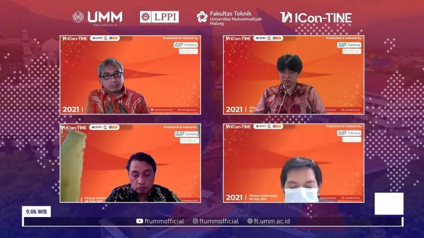 Universitas Muhammadiyah Malang (UMM) menggelar International Conference on Technology, Informatics, and Engineering (ICon-TINE) 2021.