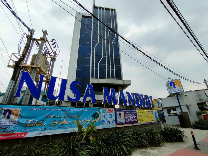 Universitas Nusa Mandiri (UNM) kampus Jatiwaringin, Jakarta Timur, menjadi sentra vaksinasi, tanggal 1-31 Agustus 2021.