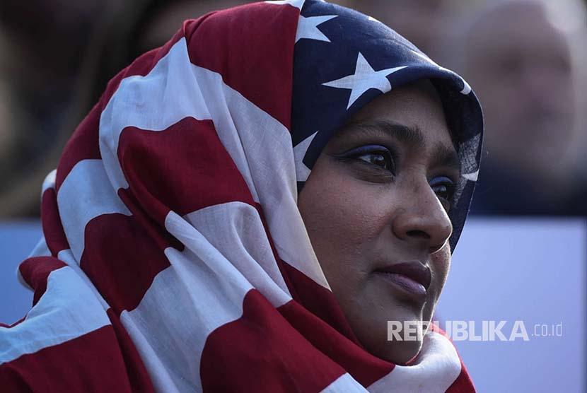 Muslim Amerika (ilustrasi)