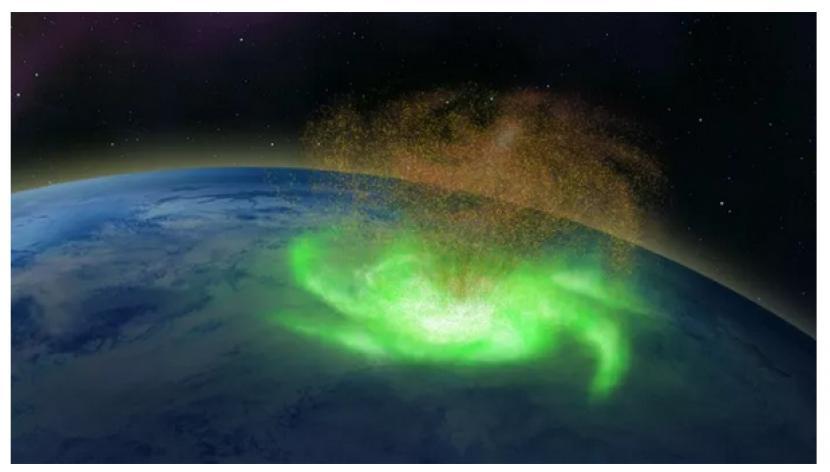 Badai Luar Angkasa Pertama Kali Terdeteksi di Bumi