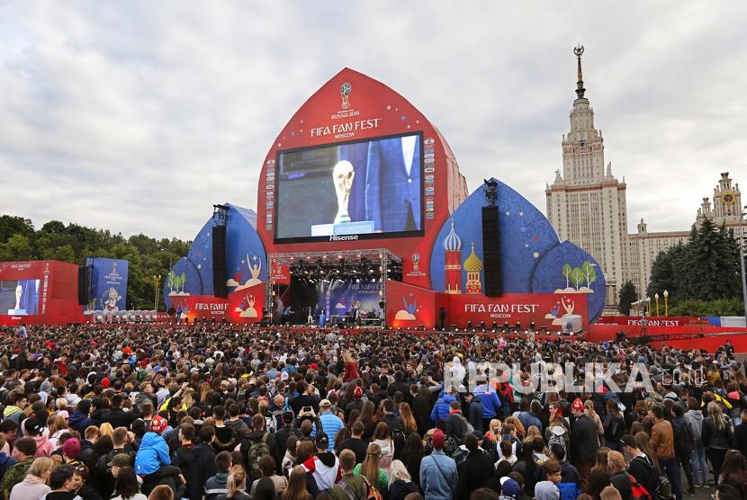 Ajang Piala Dunia Rusia 2018 (ilustrasi)