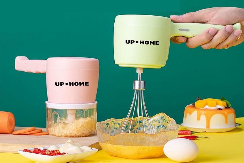 UPHOME menghadirkan Mixer yang memudahkan para ibu rumah tangga dalam membuat adonan kue di rumah.