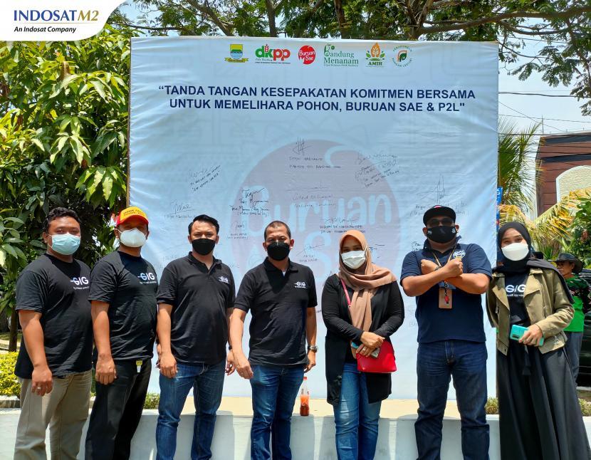 Urban farming menjadi tren baru, IM2 dukung program Rapatar Pemkot Bandung melalui jaringan internet secepat kilat.