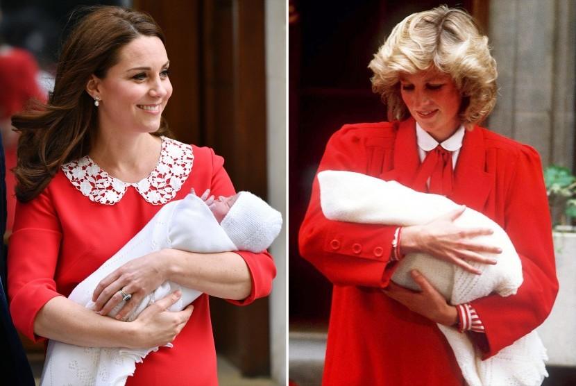 Busana Kate yang terinspirasi dari Putri Diana merupakan bentuk penghormatan kepada mendiang mertuanya Putri Diana.