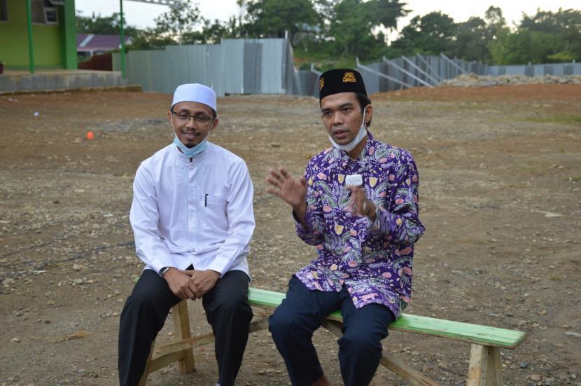 UAS Kunjungi Perguruan Islam Ar Risalah Padang