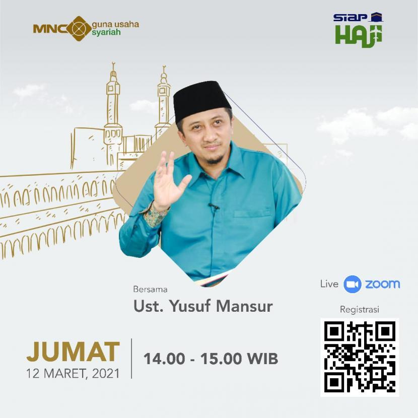 Ustaz Yusuf Mansur Dihadirkan dalam Peluncuran Siap Haji