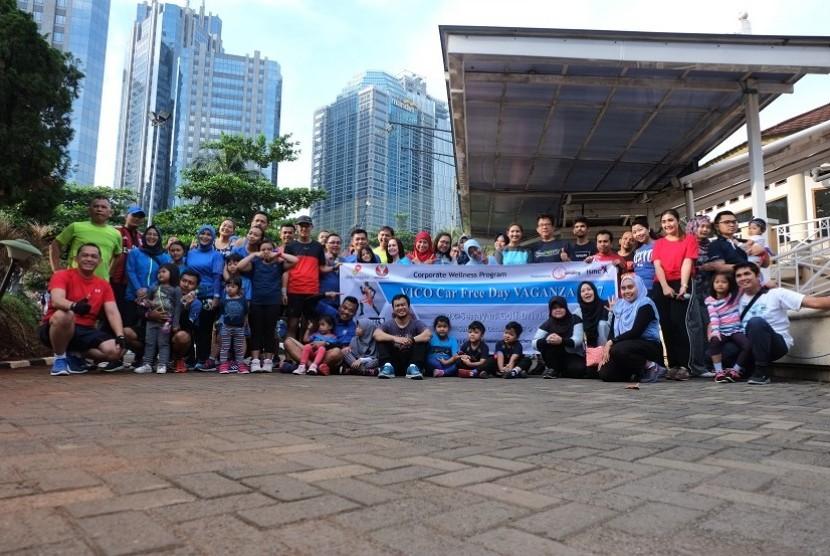 VICO Jakarta gelar Car Free Day Vaganza, olahraga bersama dengan berbagai kegiatan seru bersama anggota keluarga