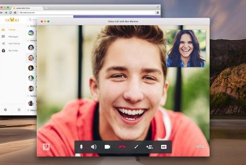 Video Call. Ilustrasi