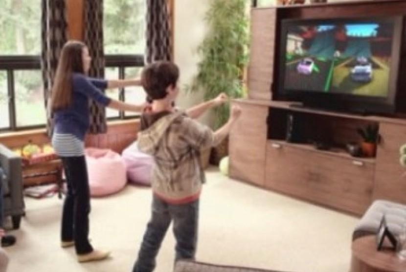 Video Game dengan motion controller