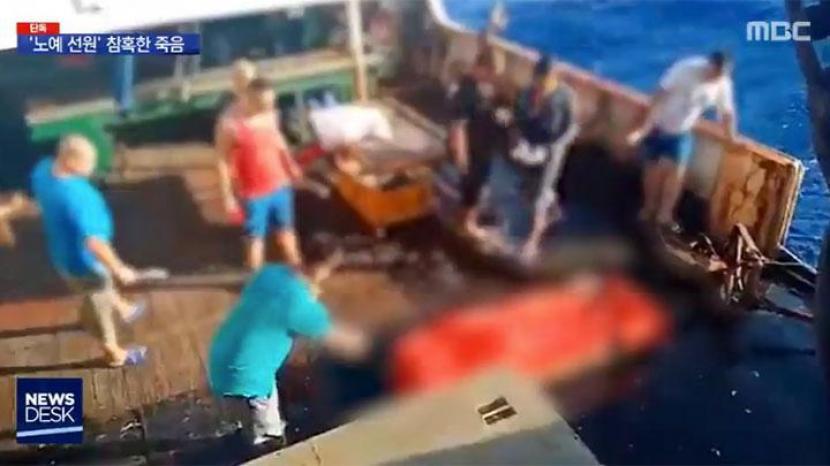 Video viral anak buah kapal atau ABK Indonesia yang meninggal di kapal berbendera Tiongkok lalu dilempar ke laut.