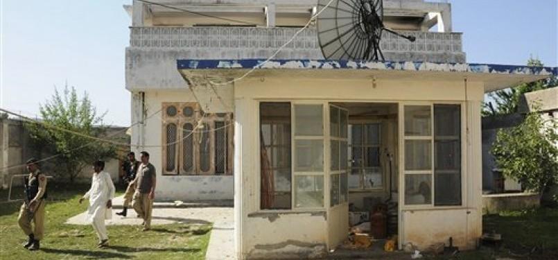 Villa tempat tinggal Usamah bin Ladin