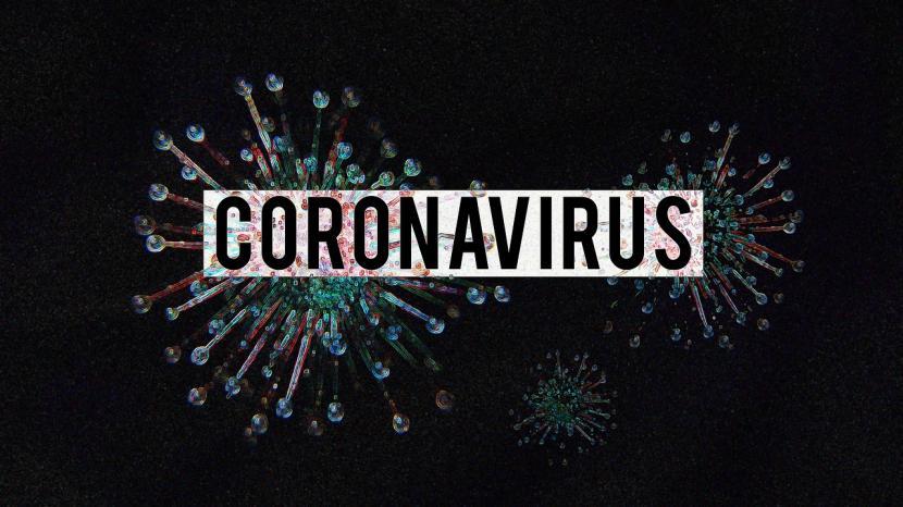 Virus corona (ilustrasi)