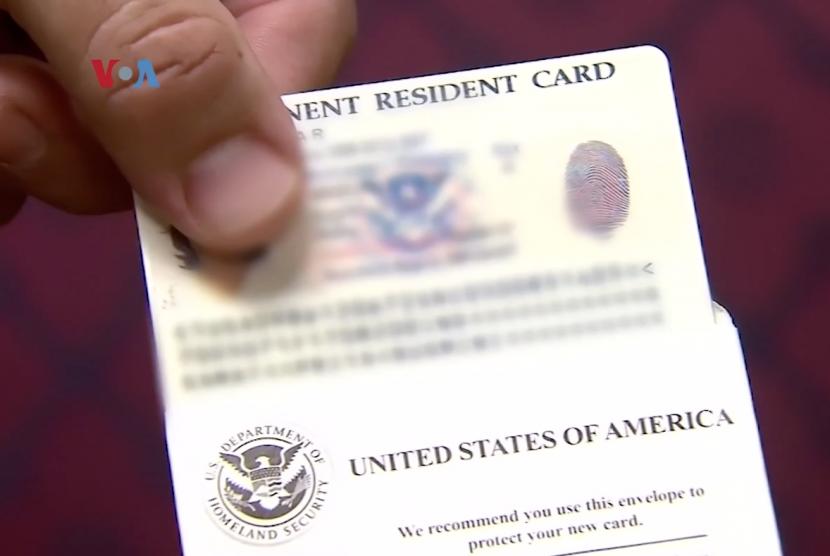 Visa Amerika Serikat. Lewat program bebas visa, warga asing bisa datang ke AS tanpa visa untuk masa tinggal hingga 90 hari. Ilustrasi.