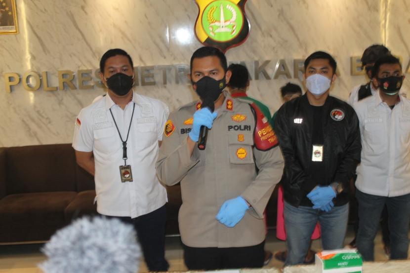 Wakapolres Metro Jakarta Barat AKBP Bismo Teguh Prakoso