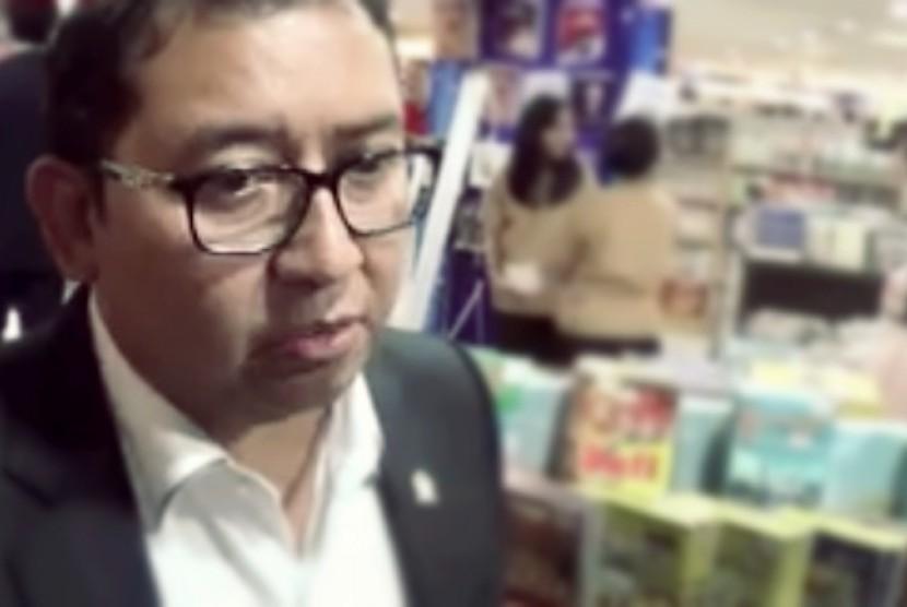 Wakil Ketua Dewan Perwakilan Rakyat (DPR) RI, Fadli Zon
