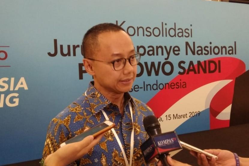 Sekretaris Jenderal (Sekjen) Partai Amanat Nasional (PAN) Eddy Soeparno