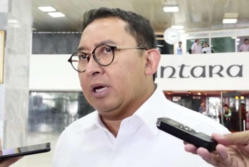 Wakil Ketua Dewan Perwakilan Rakyat (DPR), Fadli Zon