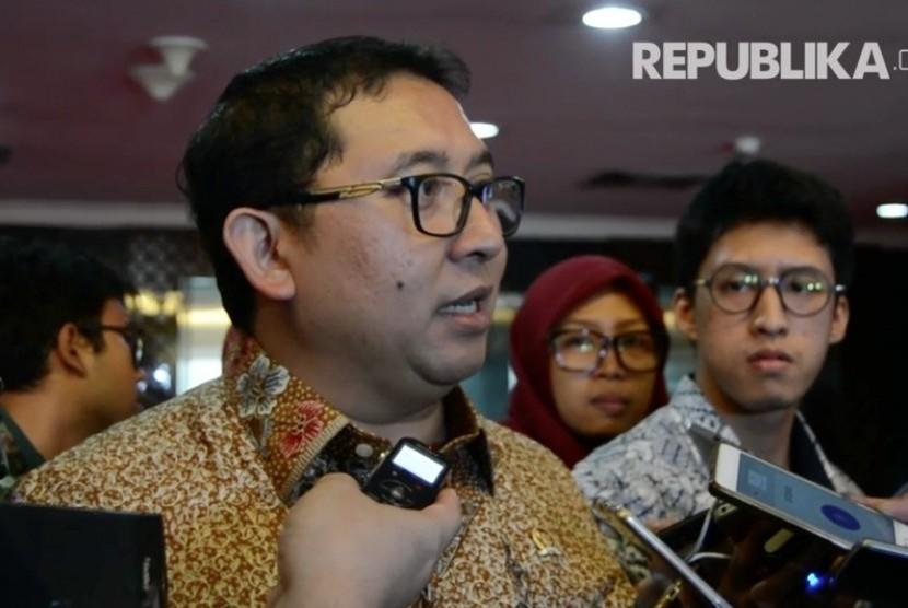 Wakil Ketua Dewan Perwakilan Rakyat Fadli Zon
