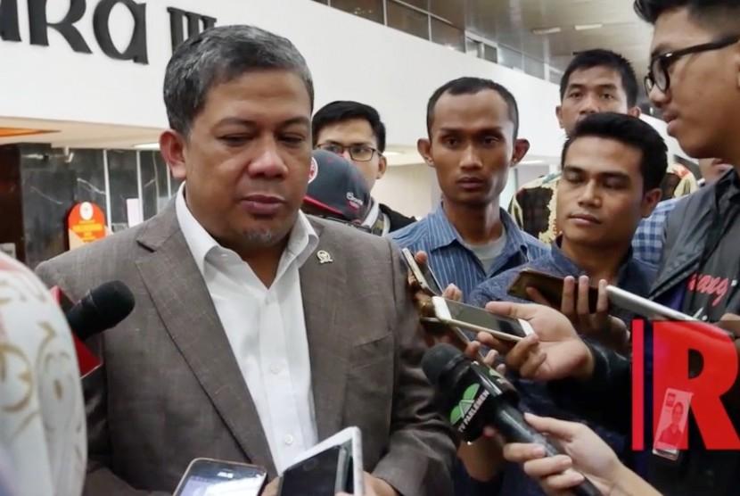 Wakil Ketua Dewan Perwakilan Rakyat Fahri Hamzah