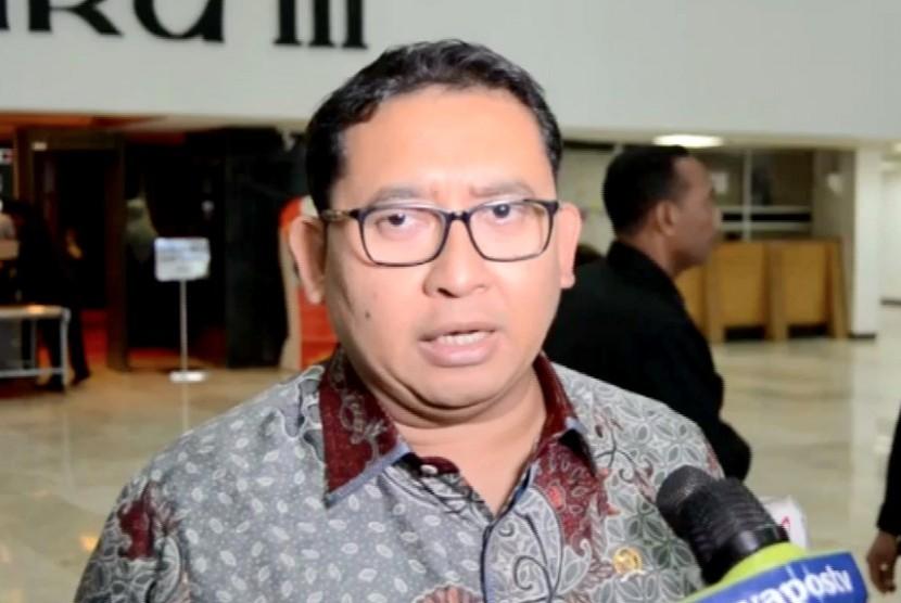 Wakil Ketua Dewan Perwakilan Rakyat Republik Indonesia (DPR RI) Fadli Zon