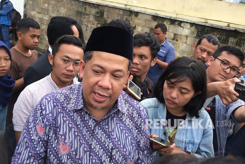 Wakil Ketua DPR RI, Fahri Hamzah.