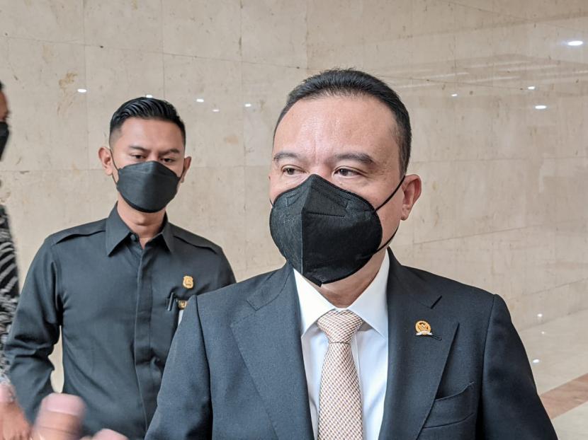 Wakil Ketua DPR Sufmi Dasco Ahmad di Gedung Nusantara II, Kompleks Parlemen, Jakarta, Kamis (10/6).