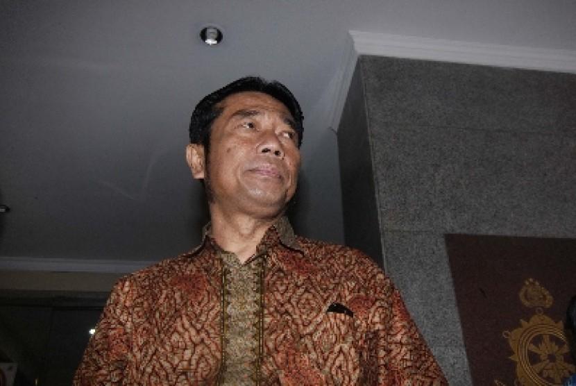 Wakil Ketua DPRD DKI Jakarta Abraham Lunggana alias Haji Lulung.