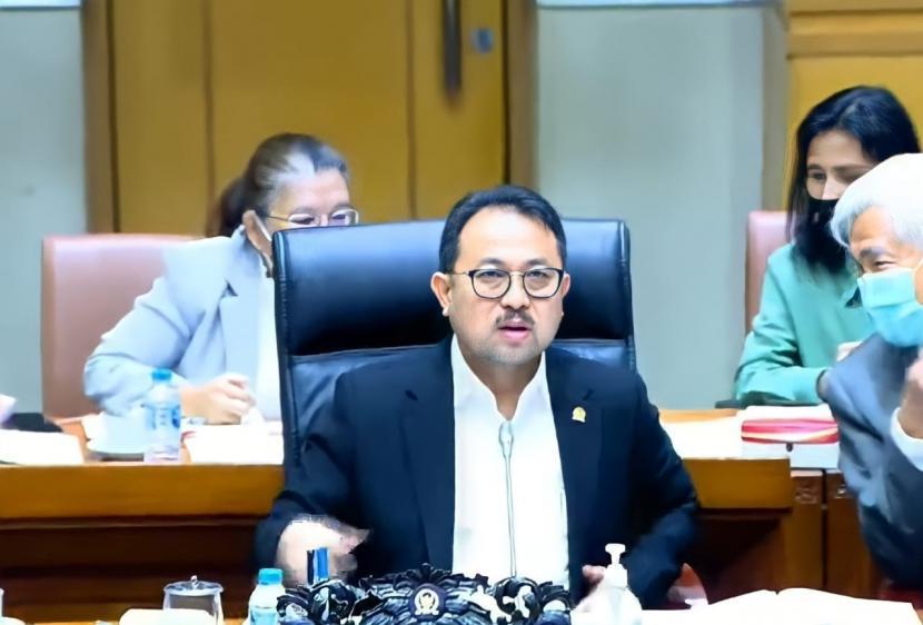 Wakil Ketua Komisi III DPR dari Fraksi PAN, Pangeran Khairul Saleh.