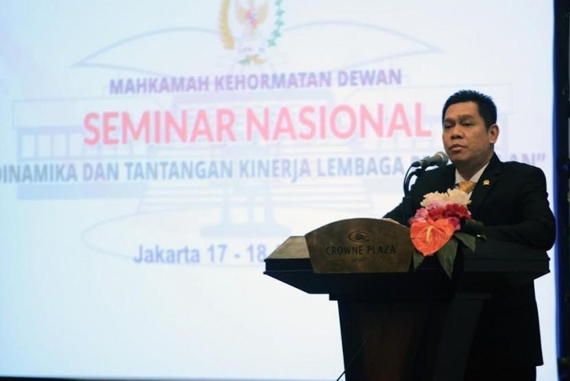 Wakil Ketua Mahkamah Kehormatan DPR RI Adies Kadir.