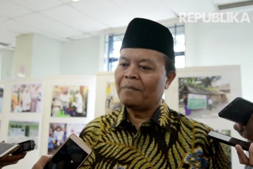 Wakil Ketua Majelis Permusyawaratan Rakyat (MPR) RI Hidayat Nur Wahid (HNW).