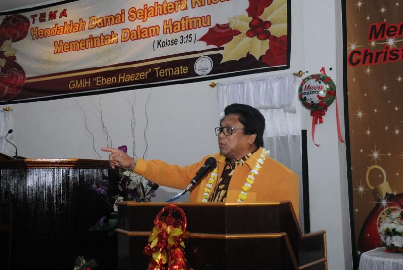 Wakil Ketua Majelis Permusyawaratan Rakyat Republik Indonesia (MPR RI) Oesman Sapta.
