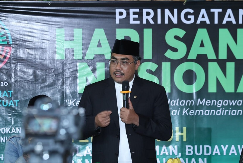Wakil Ketua MPR Jazilul Fawaid hadir dalam acara Hari Santri Nasional yang bertema Kebangkitan Santri Dalam Mengawal Perubahan Dengan Nilai Kemandirian
