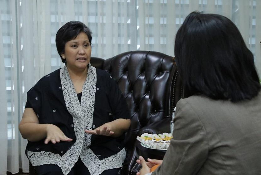 Wakil Ketua MPR Lestari Moerdijat menyatakan perlu gerakan bersama tingkatkan keterwakilan perempuan di parlemen