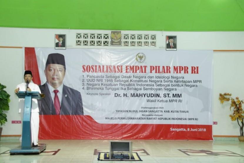 Wakil Ketua MPR Mahyudin