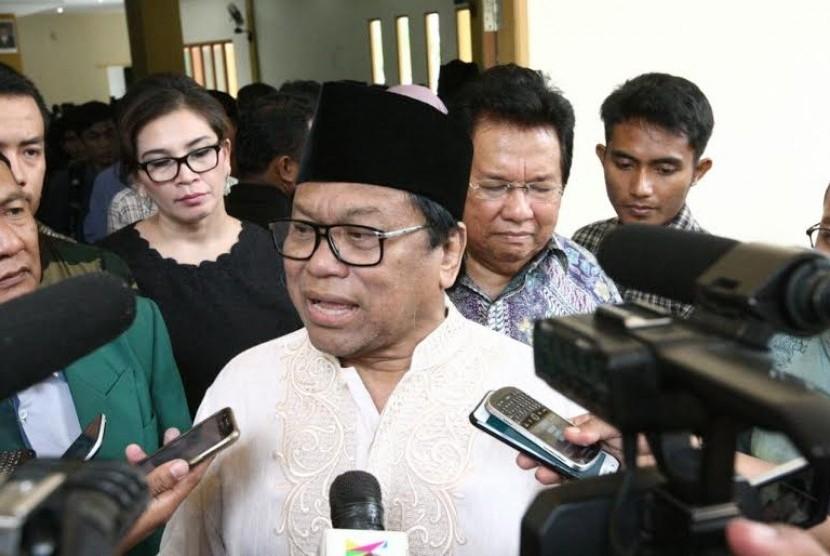 Wakil Ketua MPR Oesman Sapta.